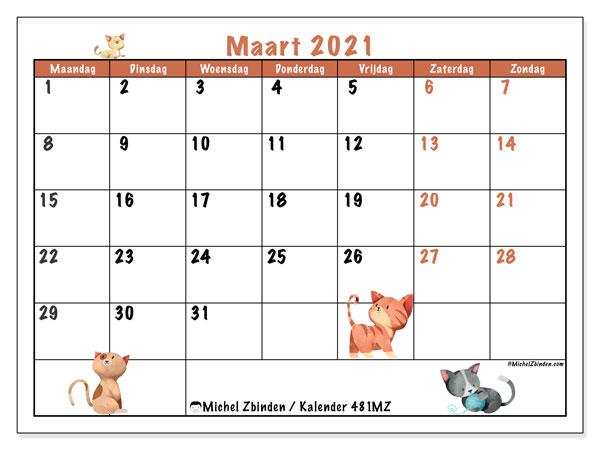Kalender maart