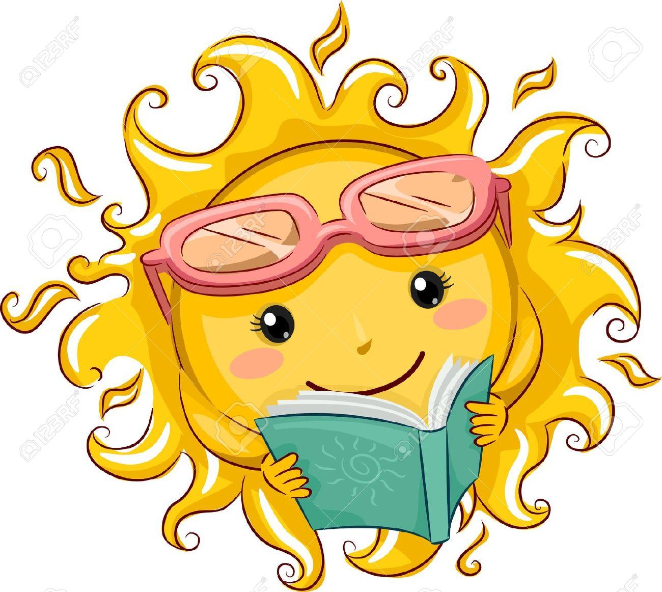 lezen in zon